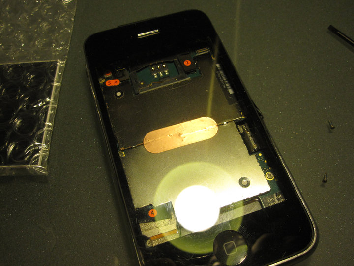 iPhone 3G without a display